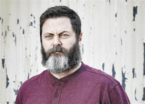 nick offerman why nick offerman is the stag orlando sentinel