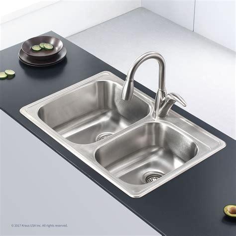 18 kitchen sinks stainless steel stainless steel kitchen sinks kraususa