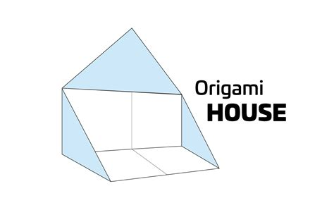 easy origami house how to make a simple origami house