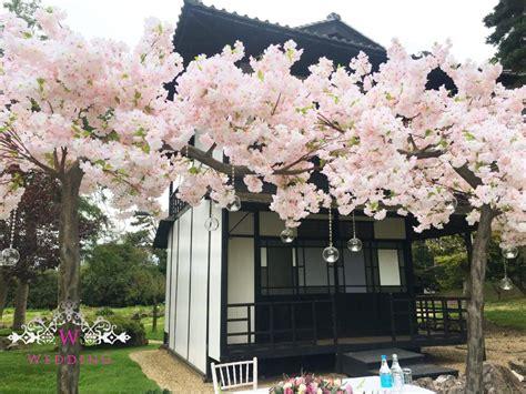blossom tree canopy wedding lounge