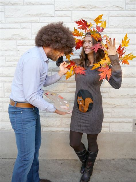 bob ross paintings costume diy dorobek family costume 2013 c r a f t