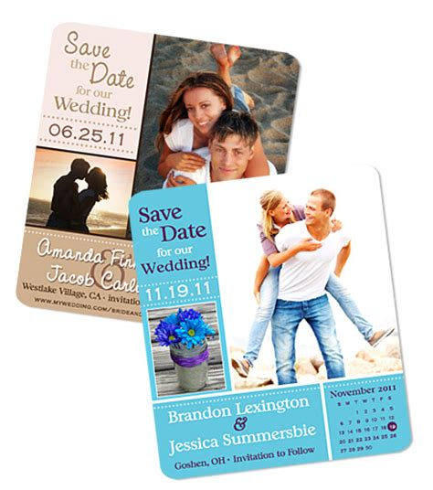 how to make your own save the date cards create your own save the date wedding magnets