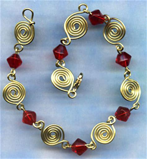 wire works jewelry wire worked bracelets craft cove