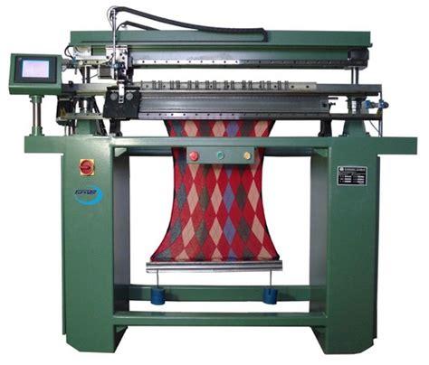 flat machine knitting eurowell irregular computerized intarsia flat knitting