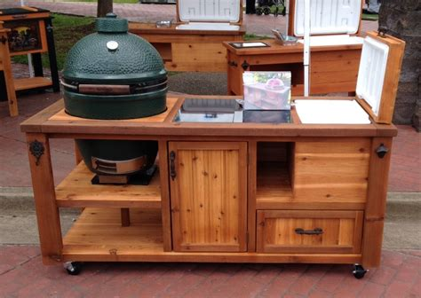 grill table plans how to build a rolling cart for your grill home design