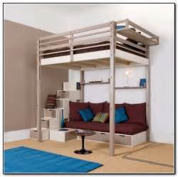 sized loft bed plans for loft bed with steps