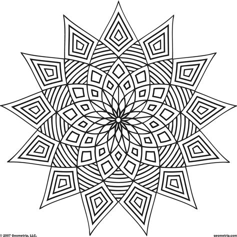 designs for adults complex coloring pages bestofcoloring