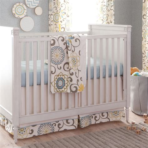 baby crib bedding for spa pom pon play crib bedding gender neutral baby