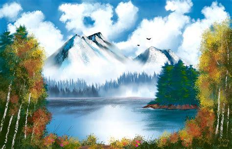 bob ross paints ireland digital painting software corel painter 2018