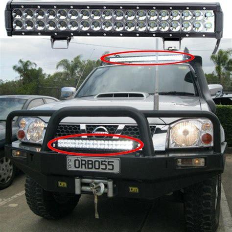 18 inch led light bar led bar 108w 18inch led work light bar 12v ip67 offroad