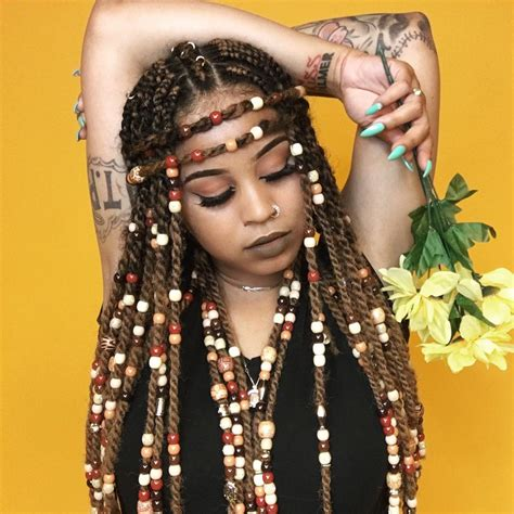 bead hair styles braids with hairstyles for a beautiful and