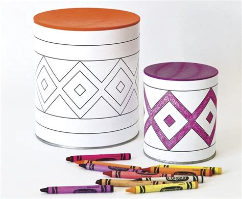 drum crafts for turn recycled cans into harvest drums raising arizona