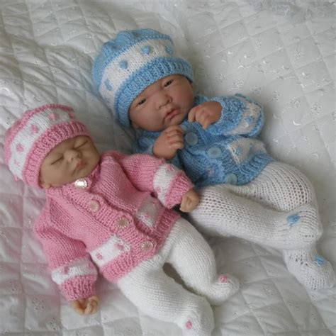 free knitting patterns for tiny babies 10 15 quot doll premature baby 59
