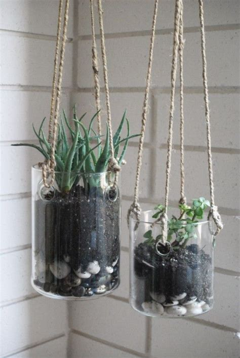 glass hanging planters hanging glass planters terrarium