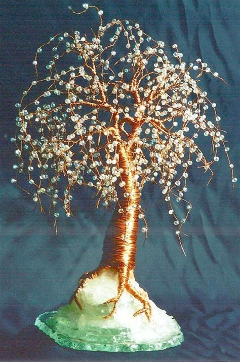 beaded wire tree tutorial 17 best images about bead on orchid flowers