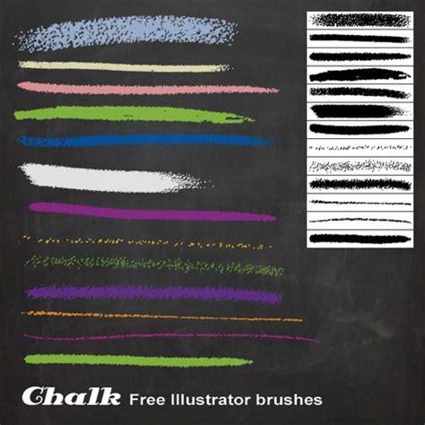 chalk paint photoshop weekly freebies 50 outstanding free illustrator brush