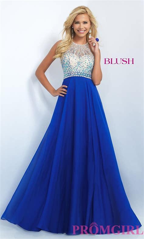 beaded prom dresses beaded blush prom dress promgirl