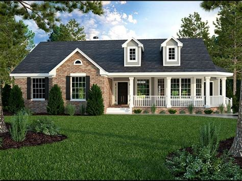country style ranch house plans best 25 single story homes ideas on house