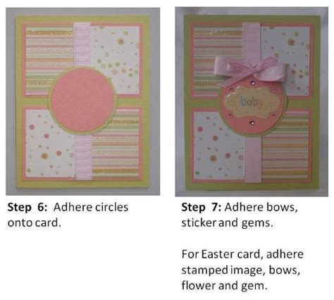 baby cards to make handmade baby greeting cards and exles of handmade cards