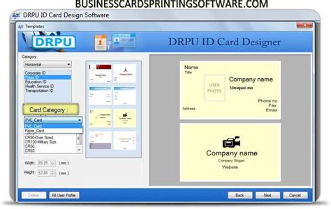 make your own id card free free generate employee identity card downloads
