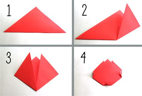 origami tulip step by step create springtime with simple origami tulips make