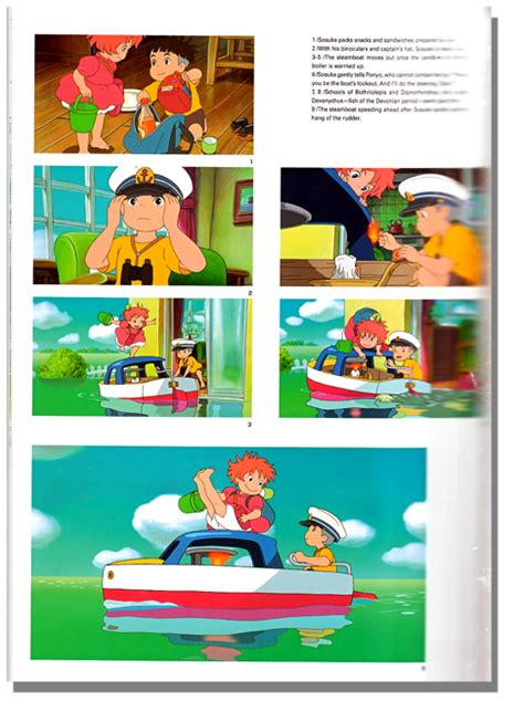 ponyo picture book book ponyo on the cliff by the sea anime books