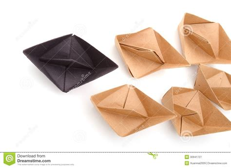 origami player free origami boats royalty free stock photography image 30941727