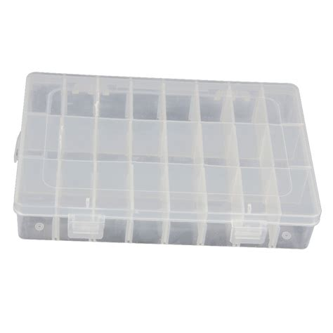 bead organizers and storage containers 15 24 36 grid clear adjustable jewelry bead organizer box