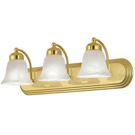 brass bathroom lighting fixtures 3 light bathroom vanity bath lighting brass gold finish ebay
