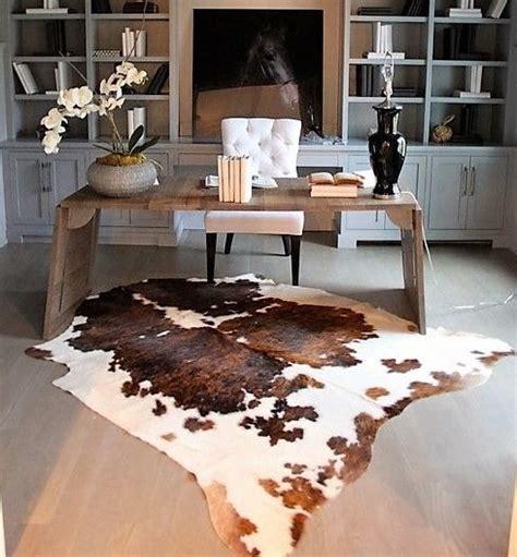 cowhide home decor best 25 cowhide decor ideas on cowhide rug