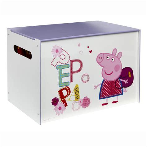 peppa pig bedroom furniture peppa pig mdf box new official bedroom furniture ebay