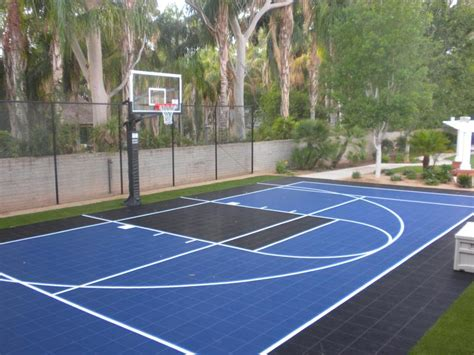 backyard sport courts backyard courts gallery sport court of southern california