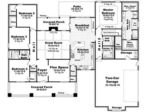 floor plans for 1 story homes 4 bedroom house plans 4 bedroom house floor plan 1 story