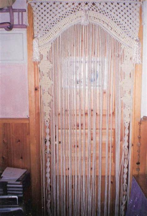 wardrobe door beading lovely macram 233 door hanging vintage