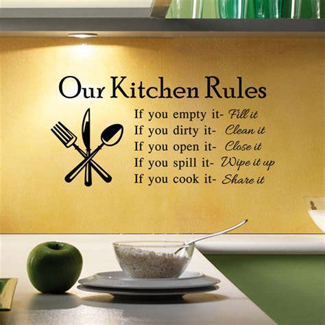 vinyl decals for home decor home decor saying kitchen wall sticker vinyl