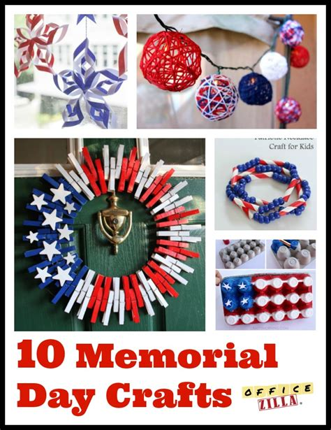 memorial day crafts for 10 memorial day crafts the officezilla 174