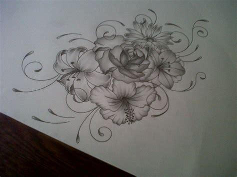 flower tattoo design by tattoosuzette on deviantart