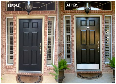 painting the front door of your house diy how to paint a door theydesign net theydesign net