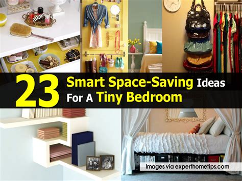 space saving ideas 23 smart space saving ideas for a tiny bedroom