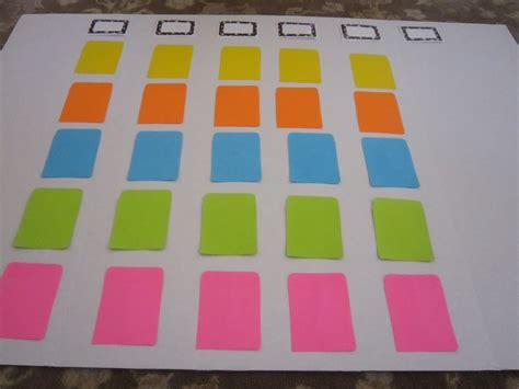 what to make out of index cards diy jeopardy board save money live joyfully