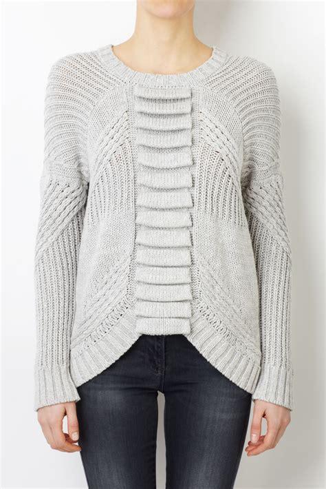 sass and bide knit sass bide like in gray lyst