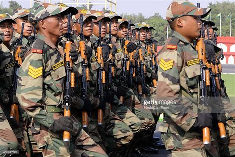 parade ta 65th territorial army raising day parade getty images