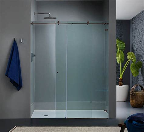 shower doors glass types shower door companies glass shower door types