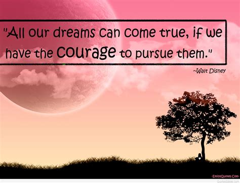 courage distance program courage quote with inspirational photo