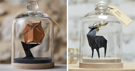 origami in a jar artist found an amazing way to preserve origami by using