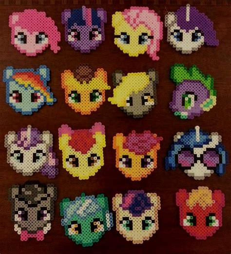 my pony perler my pony perler by craftinnerdy on deviantart