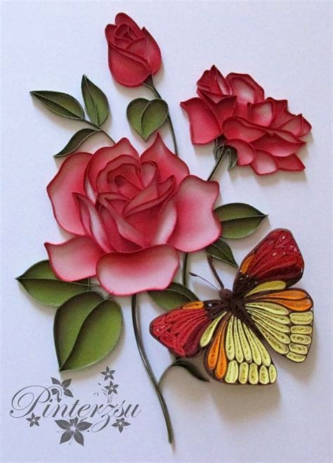 rosary made from roses 25 best ideas about quilled roses on quilling