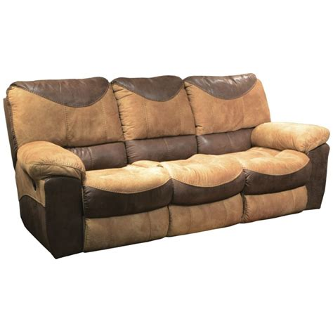 catnapper reclining sofas catnapper portman polyester power reclining sofa in saddle