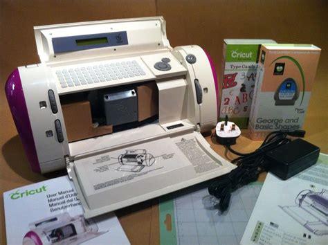 paper crafting machines cricut personal electric paper craft machine plus your