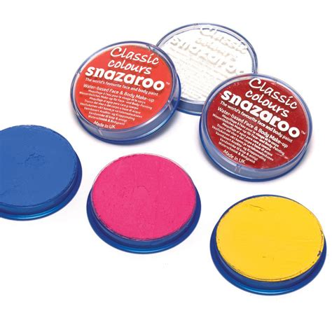 snazaroo paint orange 18ml paint pot paints pots and brushes from
